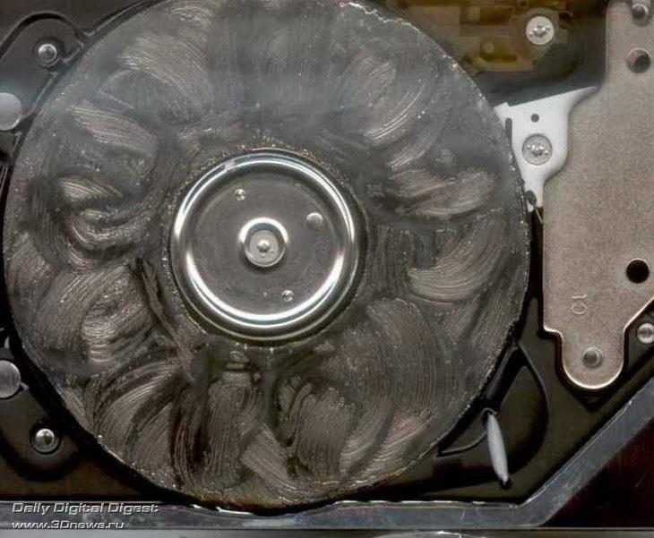 Как отремонтировать упавший жесткий диск