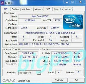 драйвер процессора intel i7