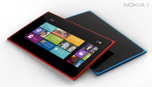 Концепт планшета Nokia 1 на базе Windows 8 / Новости hardware