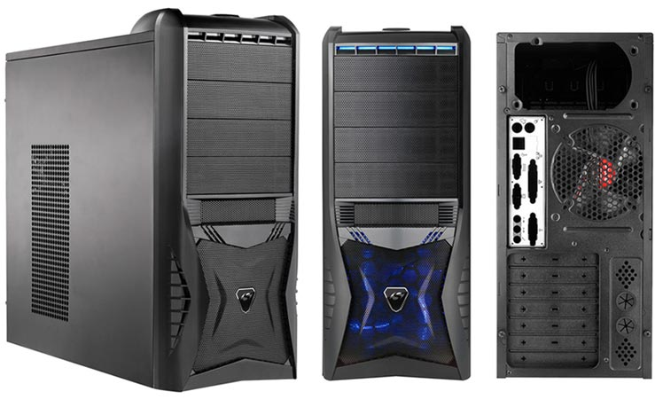 Spire Sonex 6010 – стальной Mid Tower для игровой системы ...
