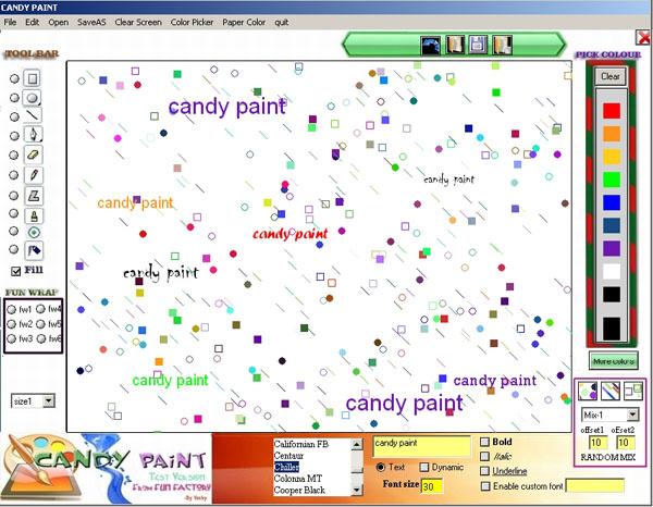 Душа желает рисовать? Candy Paint поможет! / Новости software ...