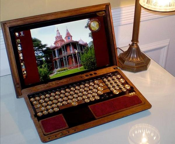 Ноутбук своими руками стимпанк 30