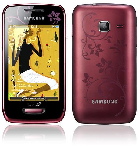 Samsung La Fleur Galaxy Ace Обои Скачать