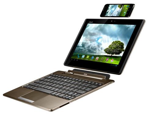 Обзор и видеообзор Asus PadFone (смартфон + планшет)