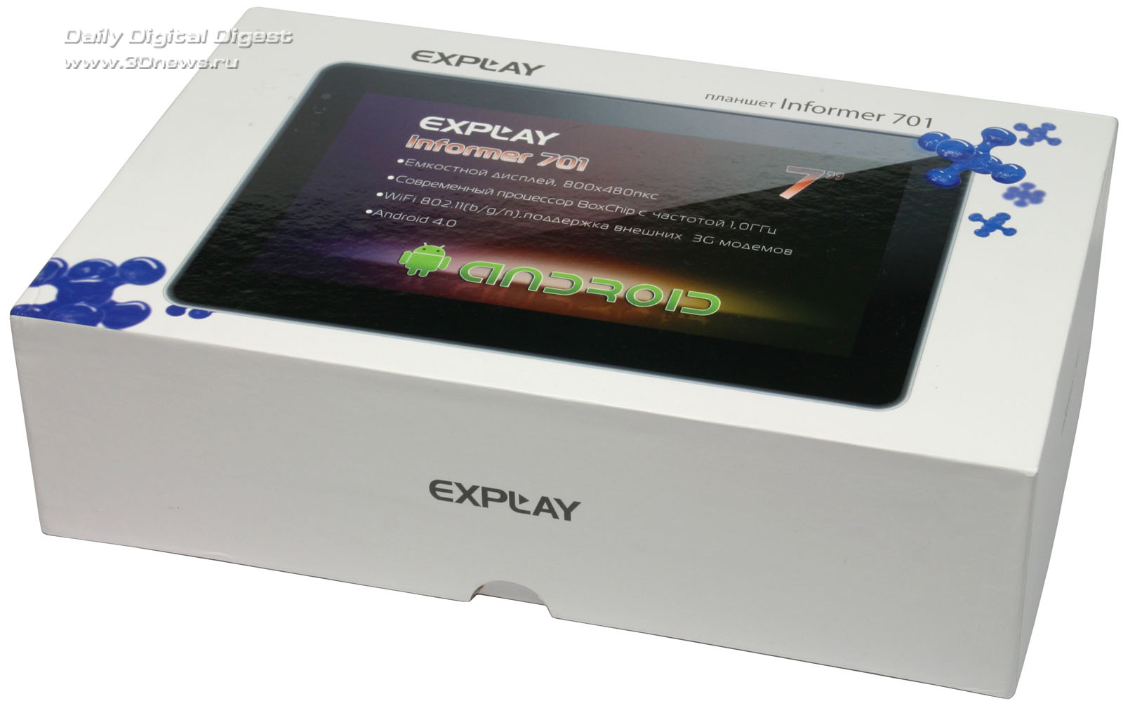 Обзор планшета Explay Informer 701 на Андроид.