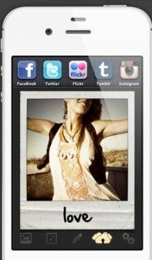 Как сделать рамку на фото с айфона