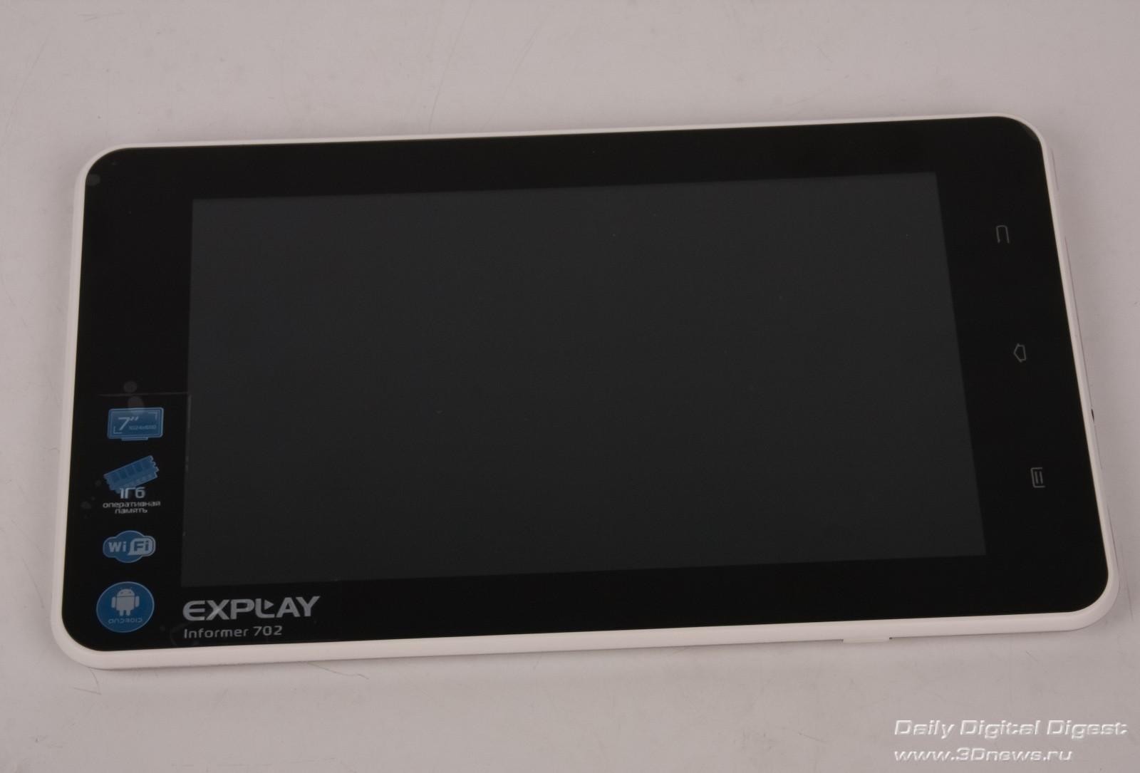 знакомство с планшетный пк explay informer 702