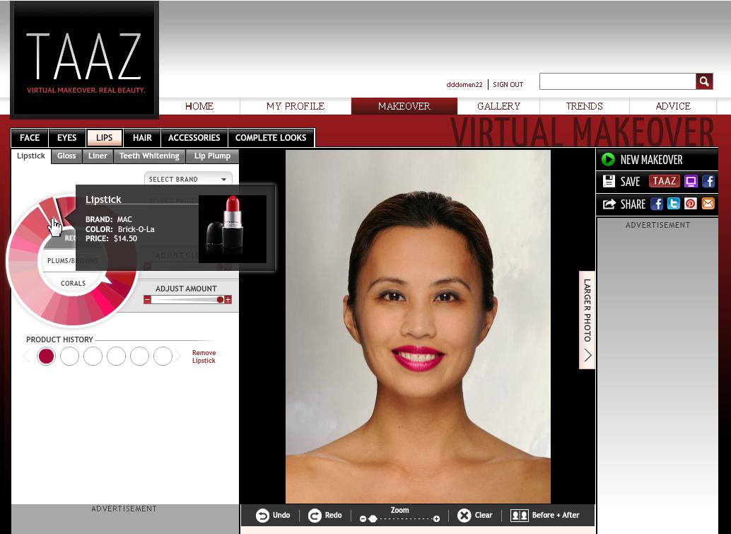 Программы наложения макияжа на