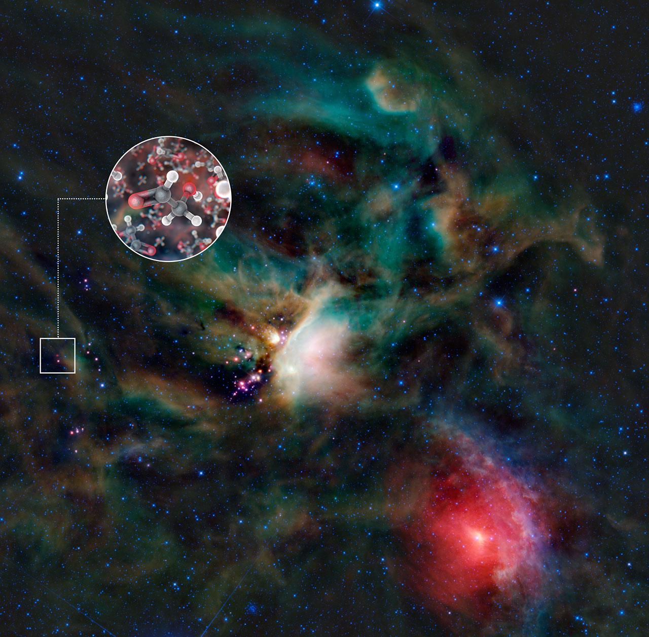 Чем заполнена межзвездная среда?