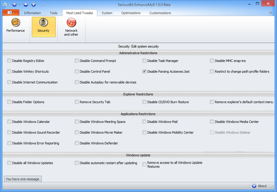 оптимизаторы для windows 8.1