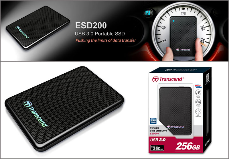 Transcend ESD200 Series SSD