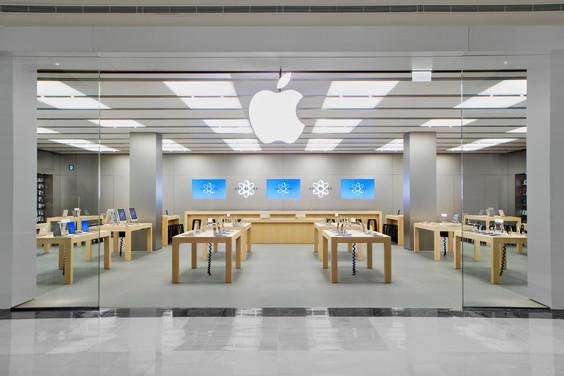 Apple зарегистрировала планировку и дизайн фирменных магазинов