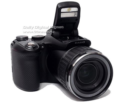 По-быстрому! Обзор скоростной новинки от Casio — фотокамеры Exilim Pro EX-F1
