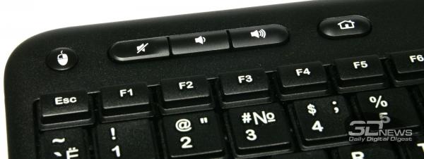 Дополнительный кнопки верхнего ряда