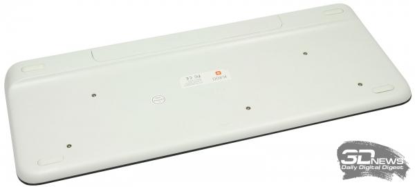 Клавиатура Logitech K400: вид сверху
