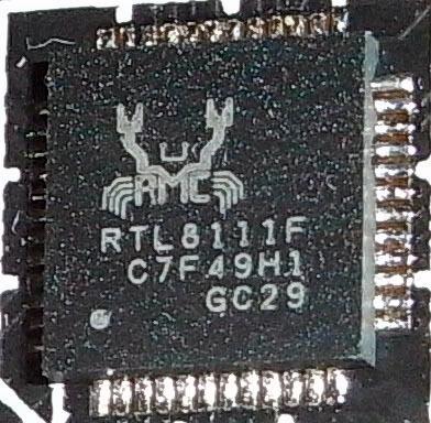 Biostar Hi-Fi A85X: сетевой контроллер