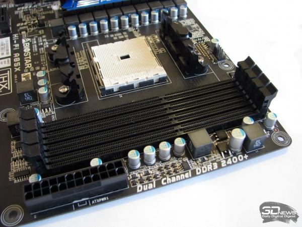 Biostar Hi-Fi A85X: DIMMs