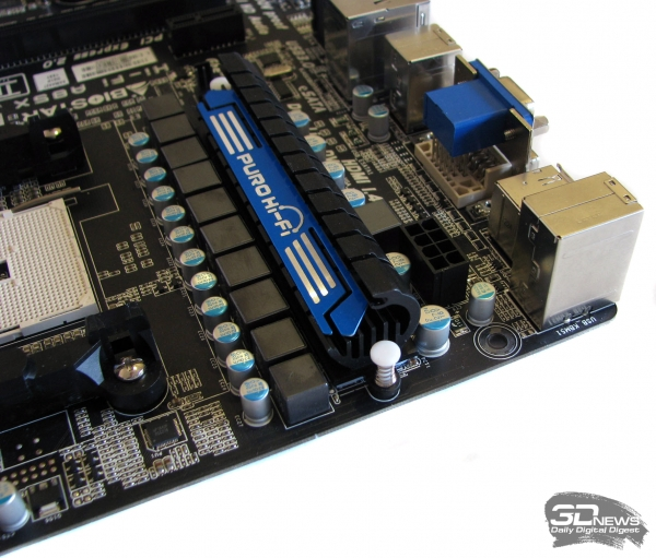 Biostar Hi-Fi A85X: доп. разъем питания