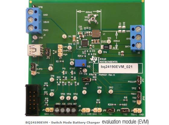 Texas Instruments вдвое ускорила зарядку Li-Ion-аккумуляторов