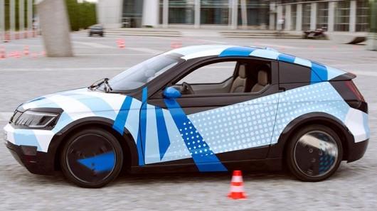 Visio.M — настоящий электромобиль с пультом ДУ