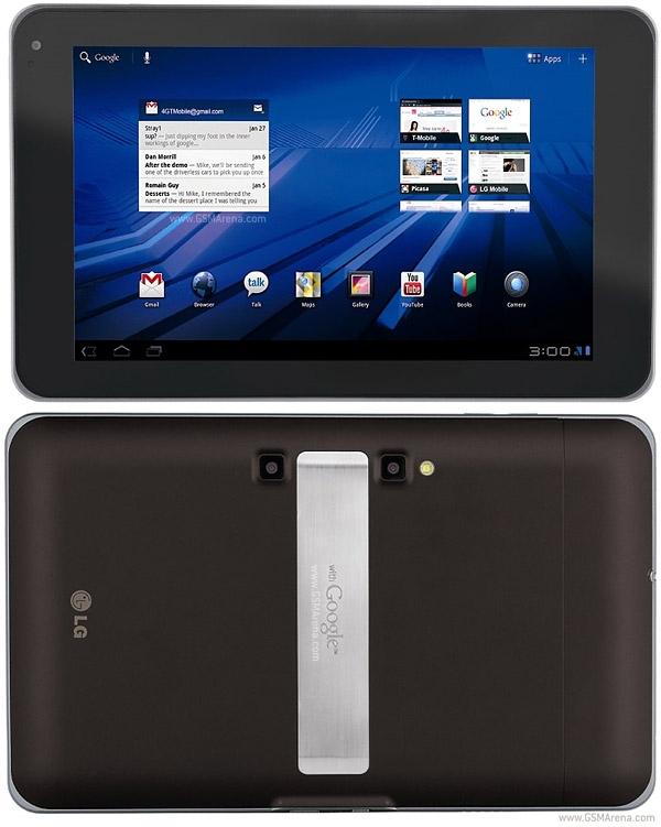 Подготовку планшета LG G Pad подтвердил ресурс The Korea Herald