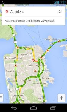 Началась интеграция сервисов Google Maps и Waze