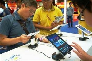 10,1-дюймовые планшеты Samsung заметно уступают по популярности 7-дюймовым