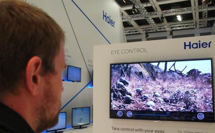 IFA 2013: Телевизор управляемый взглядом.