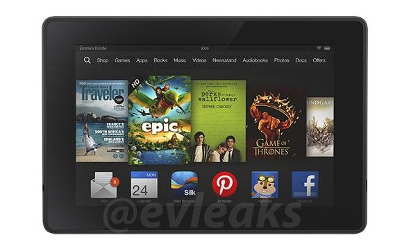 Официальный рендер Kindle Fire подтвердил изменения в дизайне