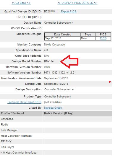 Планшет Nokia Sirius сертифицирован организацией Bluetooth SIG