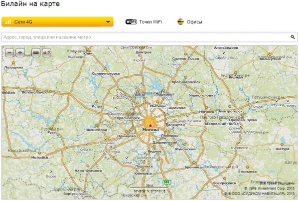 Покрытие LTE-сети «пчеловодов» на карте выглядит как плевок в душу России
