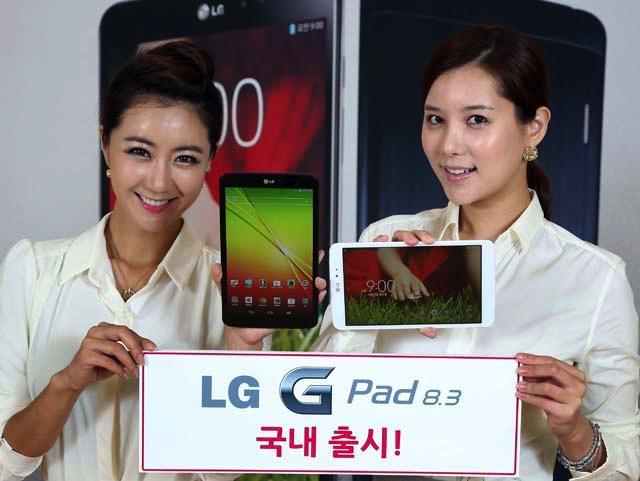 Планшет LG G Pad 8.3 поступит в продажу в Южной Корее 14 октября