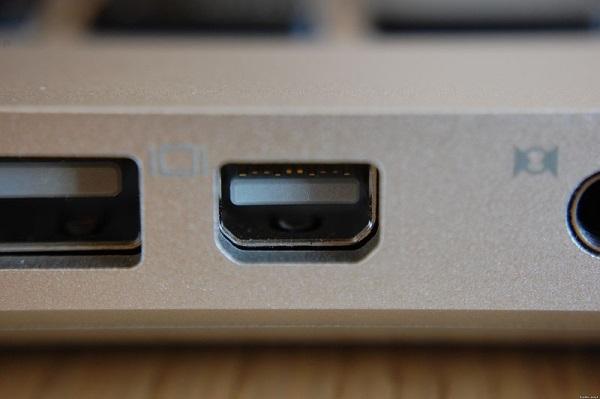 Mini-DisplayPort на Apple MacBook