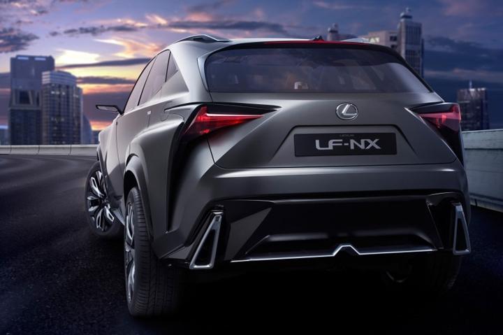 Tokyo Motor Show 2013: представлен кроссовер премиум-класса Lexus LF-NX Turbo