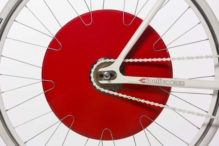 Колесо Copenhagen Wheel превратит обычный велосипед в электрический