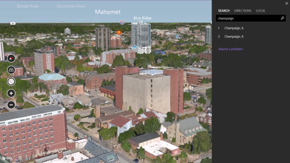 Bing Maps Preview — симметричный ответ Google Earth