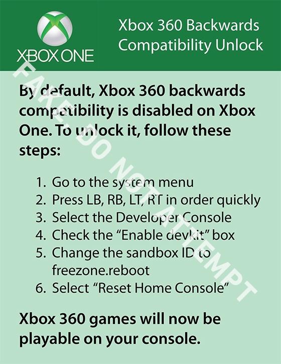 Инструкция #1: как заставить xbox one потреблять.