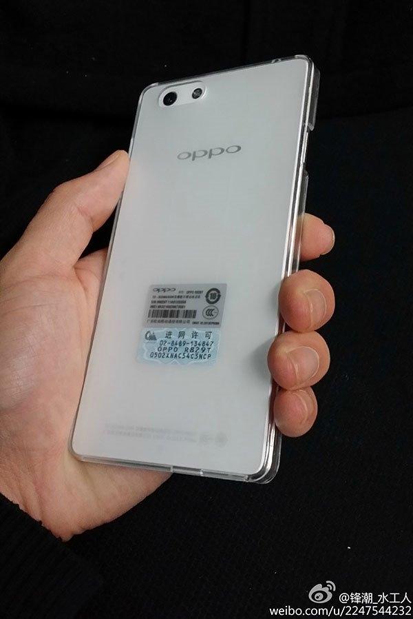 Oppo R1   предполагаемые характеристики и живое фото