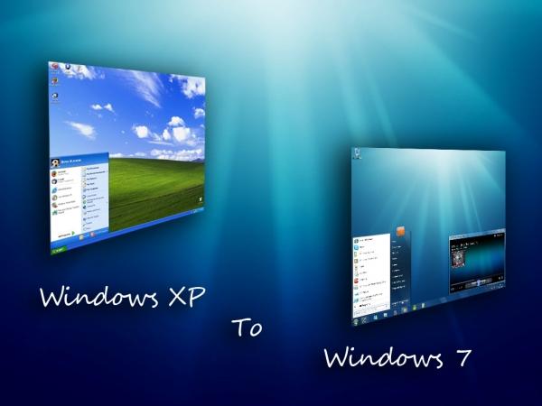 Windows 7 все еще не может превзойти Windows XP по популярности