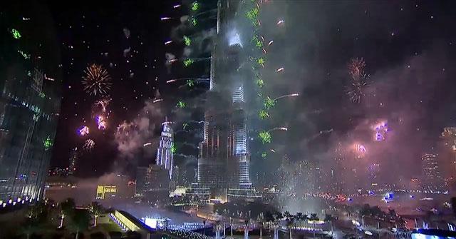 Дубай вступил в 2014 год с самым масштабным салютом, занесённым в книгу рекордов