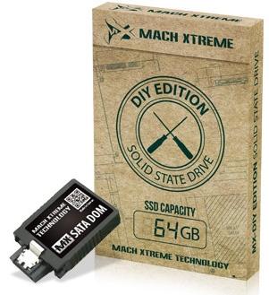 Миниатюрные SSD-новинки серии MX-DIY от Mach Xtreme