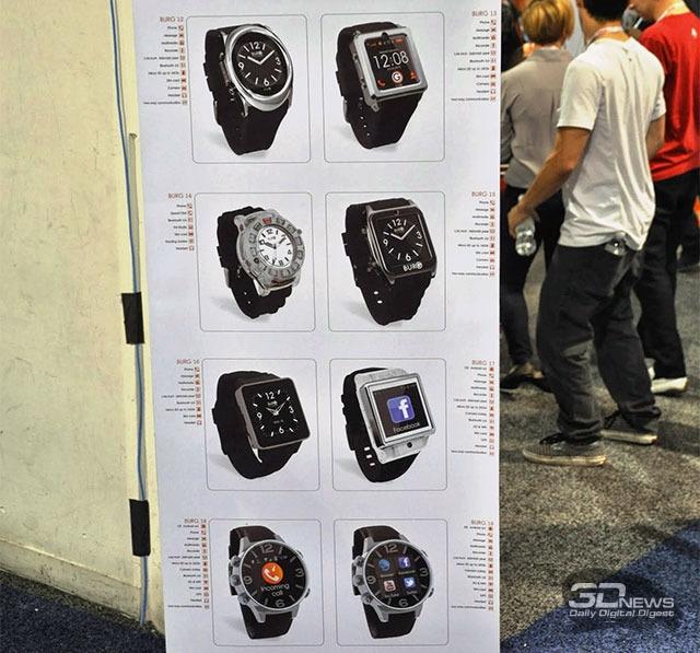 CES 2014: часы-телефоны Burg