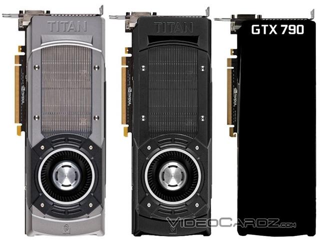 NVIDIA готовит мощные ускорители GeForce GTX Titan Black Edition и GeForce GTX 790