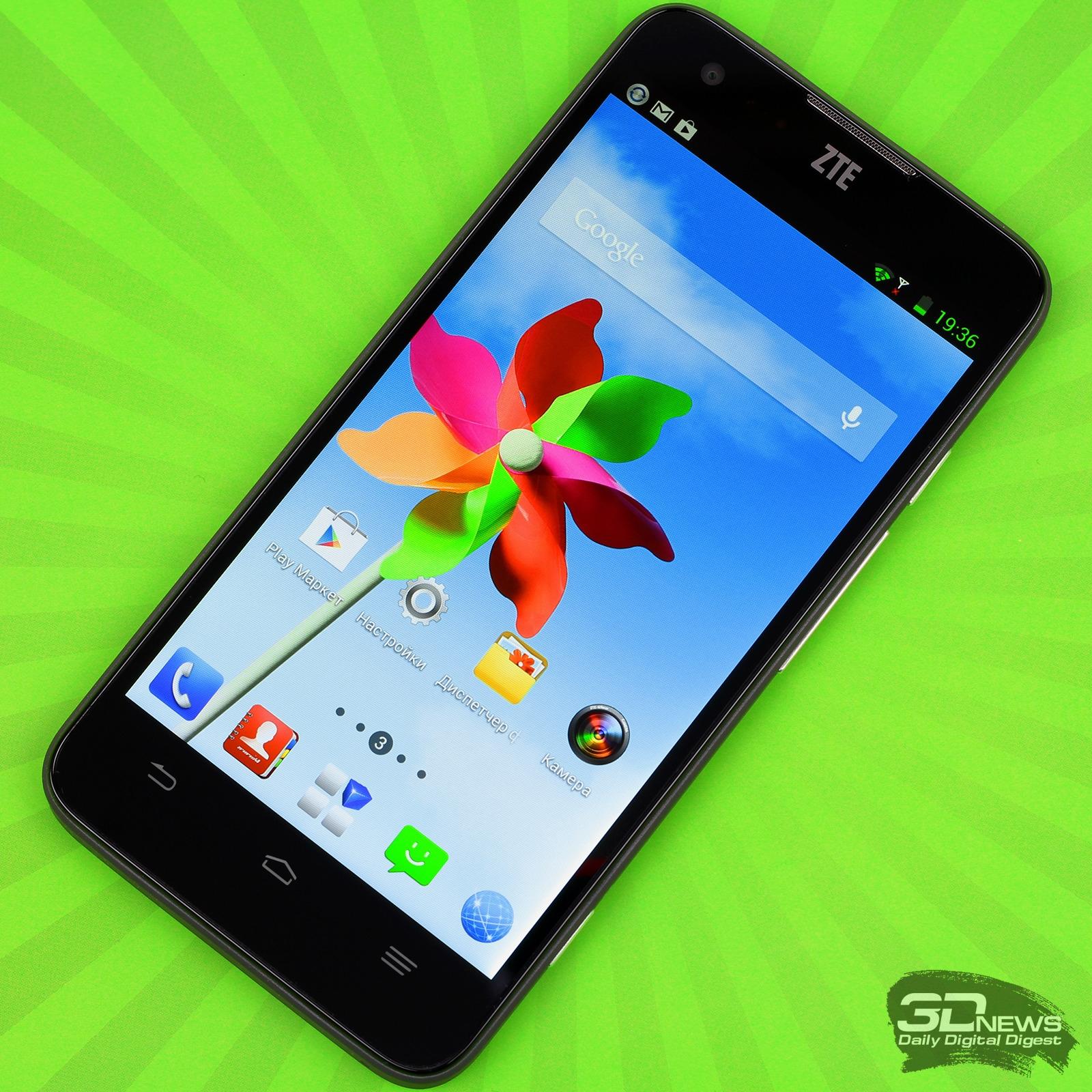 Обзор смартфона ZTE Geek: спонсор показа — компания Intel