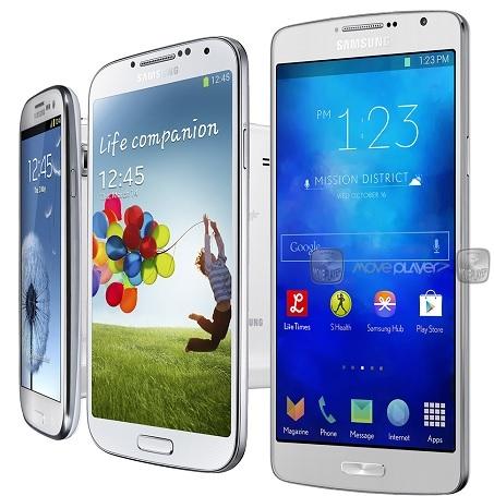 Samsung Galaxy S5 сравнили с предшественниками на компьютерном снимке