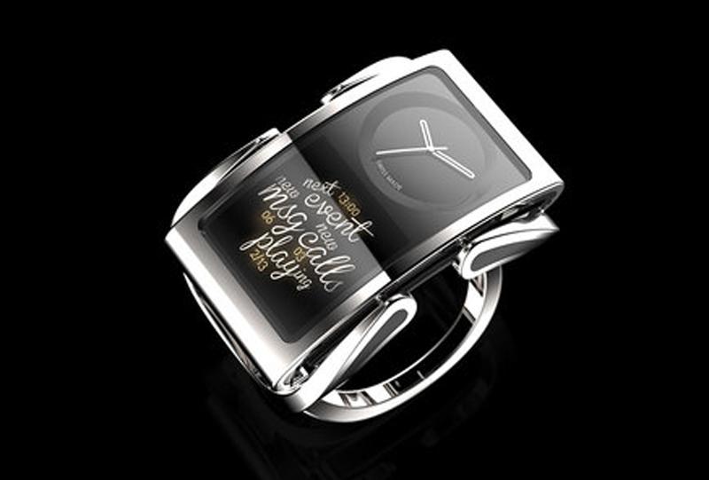 """MWC 2014: самый стильный концепт """"умных часов"""" — Ibis Dual Face"""