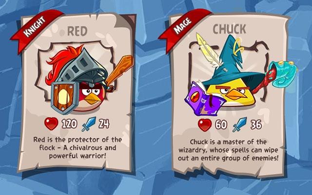 Геймплейный трейлер ролевой игры Angry Birds Epic