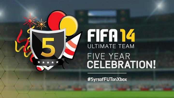 fut five years header EA подготовила инфографику в честь пятилетия режима FIFA Ultimate Team