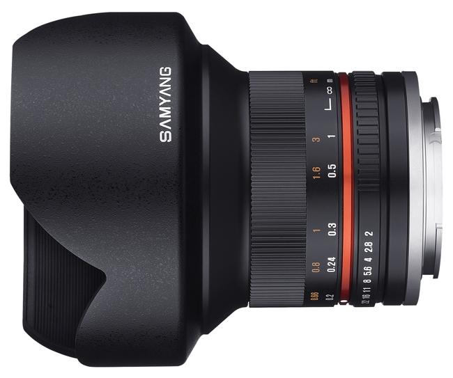 Представлен флагманский объектив Samyang 12mm F2.0 NCS CS для беззеркальных камер