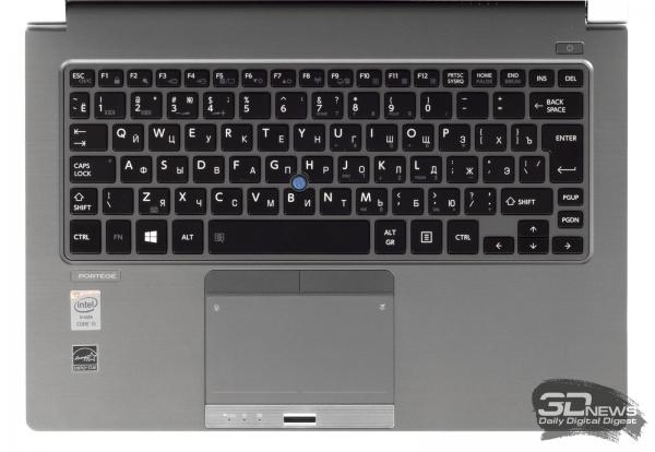 Toshiba Portege Z30-A-M5S: keyboard